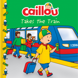 Children's Book Review: Caillou Takes theTrain