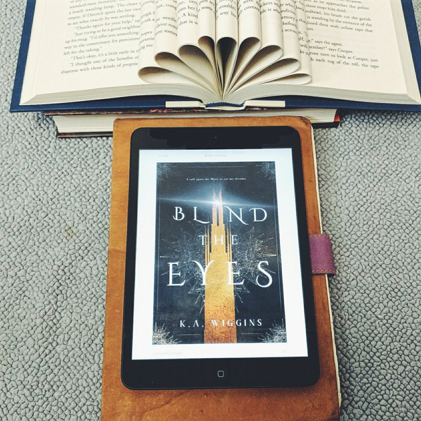 Book Review: Blind the Eyes by K.A. Wiggins #Review @adventurenlit @kaie.space @snowmelt&stumps #blindtheeyes #yahorror #monstersandmagic