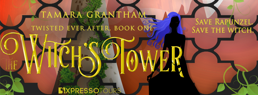 Cover Reveal: The Witch's Tower #FairyTales #Fantasy #YoungAdult @adventurenlit @tamaragrantham