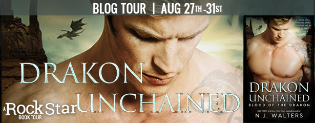 Spotlight : Drakon Unchained by N.J. Walters