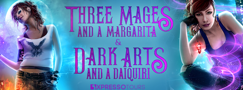 Book Reveal: Three Mages and a Margarita @XpressoTours @adventurenlit @annettemmarie