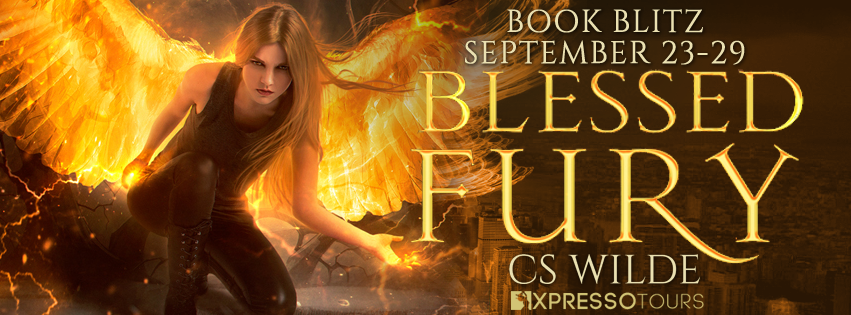Book Blitz & Giveaway: Blessed Fury by CS Wilde @adventurenlit @XpressoTours@thatcswilde