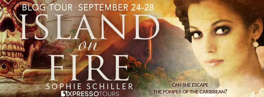 Blog Tour: Island on Fire by Sophie Schiller @adventurenlit @XpressoTours @SophieSchiller #historical#thriller