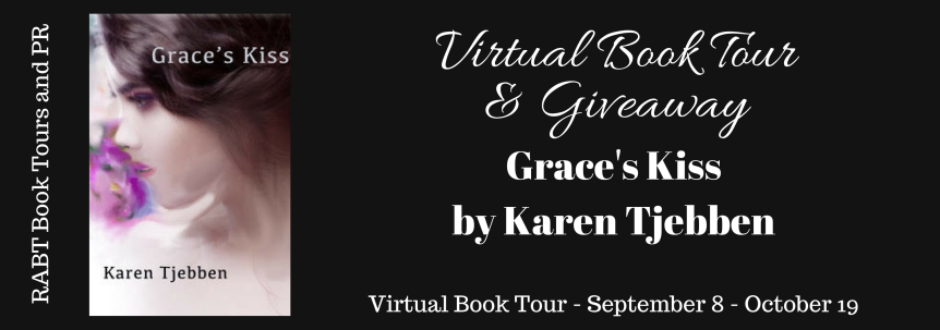 Blog Tour: Grace's Kiss by Karen Tjebben @adventurenlit @_KTjebbenAuthor @RABTBookTours #RomanticSuspense #Thriller